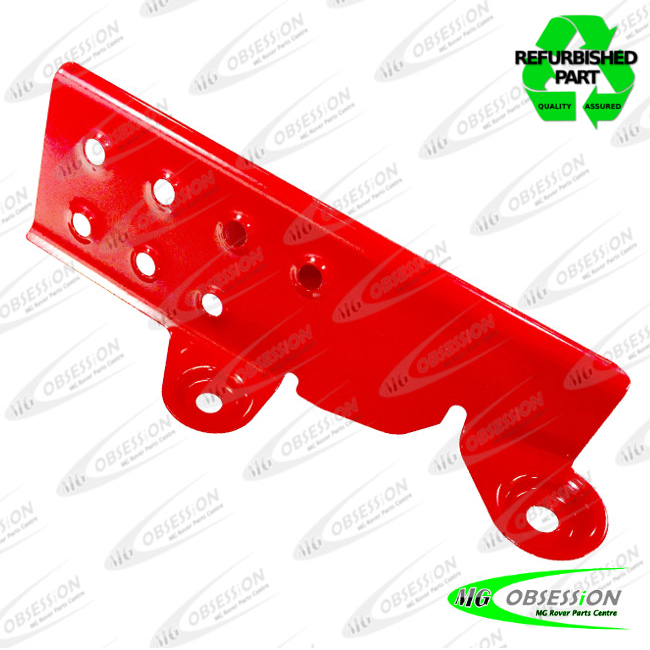 FOOT REST - POWDER COATED (RED)