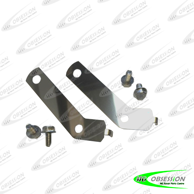 HORN MOUNTING BRACKETS (POLISHED STAINLESS STEEL)