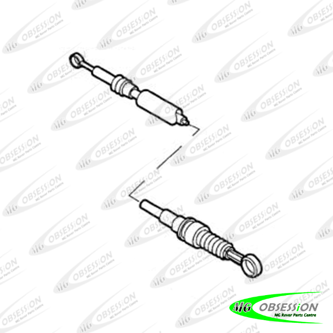 GEAR SELECTOR CABLE - SHORT (F)