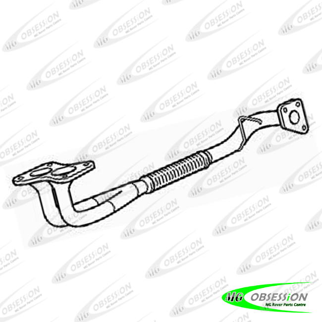DOWNPIPE EXHAUST 4 BOLT